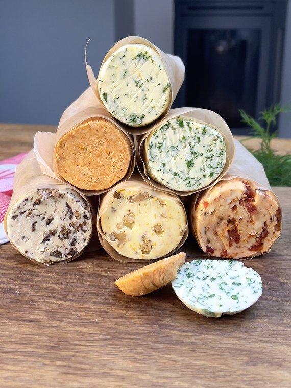 Asmeninio archyvo nuotr./Firminis Mariaus sviestas su pagardais: slaptas ingredientas mėsos patiekalams bei šarvai imunitetui