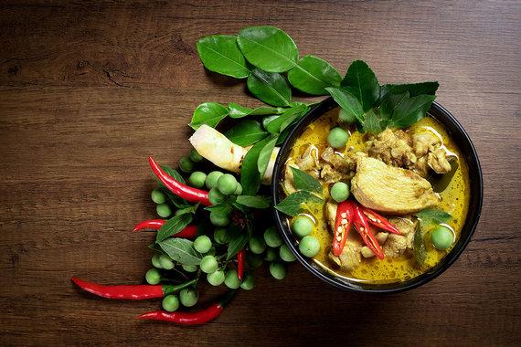 Shutterstock nuotr./Tailandietiškas žaliasis karis