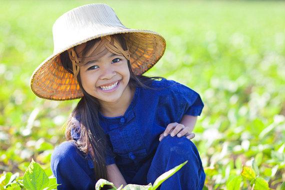 Shutterstock nuotr./Tailandietė mergaitė