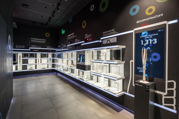 Samsung nuotr./Išmaniosios technologijos olimpiadoje: pasivaikščiojimas Mėnulyje ir virtualios trasos