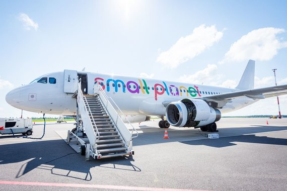 "Projekto partnerio nuotr./""Small Planet Airlines"" orlaivis"