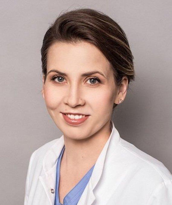 Projekto partnerio nuotr./Dermatovenerologė Inga Kisielienė