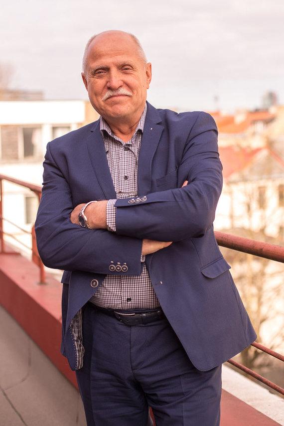 Projekto partnerio nuotr./ESO Prevencijos skyriaus vadovas Jonas Šneideraitis