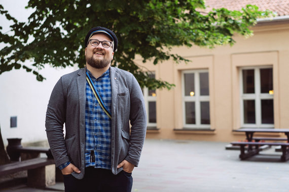 Projekto partnerio nuotr./VU Istorijos fakulteto magistrantas Povilas Andrius Stepavičius