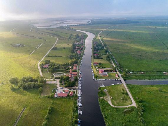 """Projekto """"Pamario švyturių kelias"""" nuotr. /Minijos kaimas"""