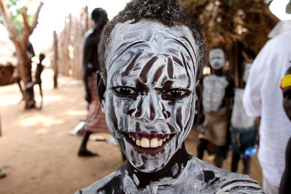 """Kelionių organizatoriaus """"GRŪDA"""" nuotr. /Etiopijos gentainis"""