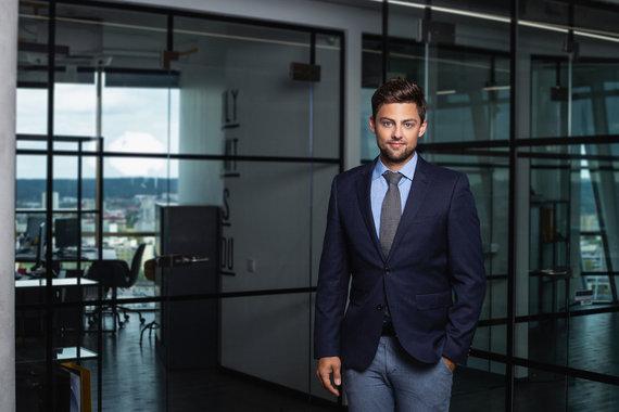 """Bendrovės """"CITUS"""" nuotr. /Šarūnas Tarutis, bendrovės """"CITUS"""" investicijų ir analizės vadovas"""