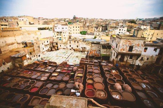 """Kelionių organizatoriaus """"GRŪDA"""" nuotr. /Marokas, Feso Medina"""