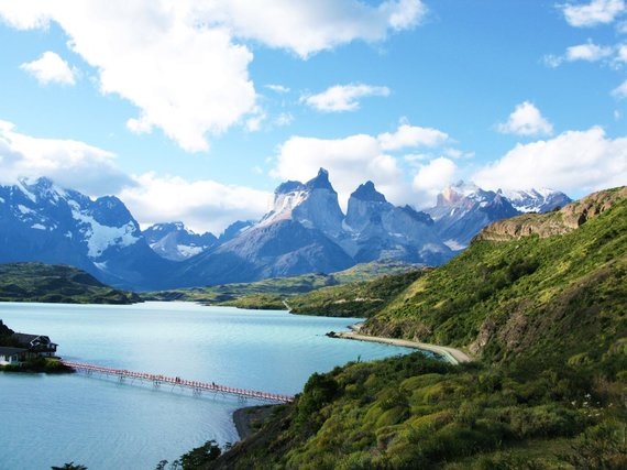 """Kelionių organizatoriaus """"GRŪDA"""" nuotr. /Čilės Patagonija, Torres Del Paines nacionalinis parkas"""