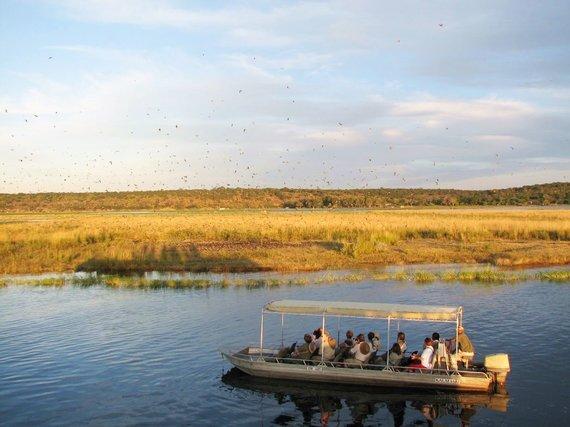 """Kelionių organizatoriaus """"GRŪDA"""" nuotr. /Augmenijos ir gyvūnijos stebėjimas plaukiant Čobės upe"""
