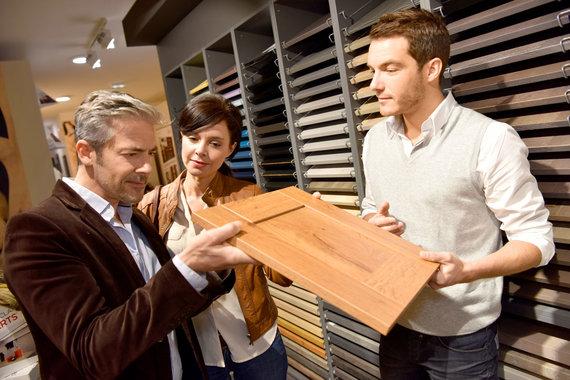 123RF.com nuotr./Pora renkasi virtuvės baldus