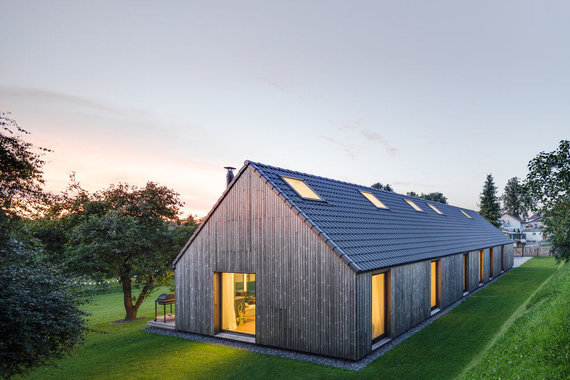 """Norberto Tukaj nuotr. /""""DO architects"""" projektuotas namas Pavilnių regioniniame parke"""