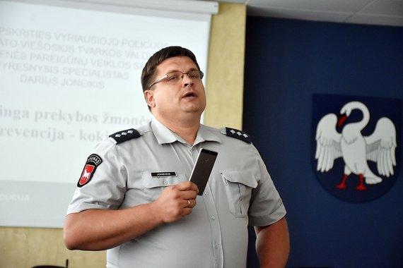Asmeninio albumo nuotr. /Kauno miesto bendruomenės pareigūnas Darius Joneikis