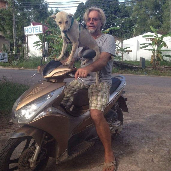 Asmeninio archyvo nuotr. /Kambodža – šalis, kurioje gyventi paprasta. Marius Duoplys sako čia radęs kitokį gyvenimą – ramų ir be rūpesčių