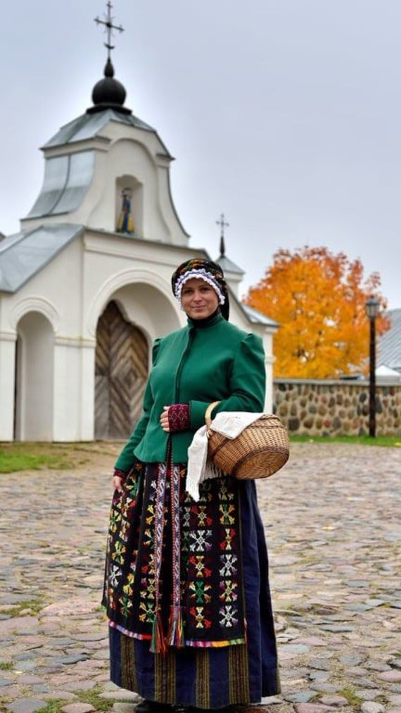 Ričardo Abariaus nuotr. /Lietuvos liaudies buities muziejaus ekskursijų vadovė-edukatorė Agnė Augustaitienė