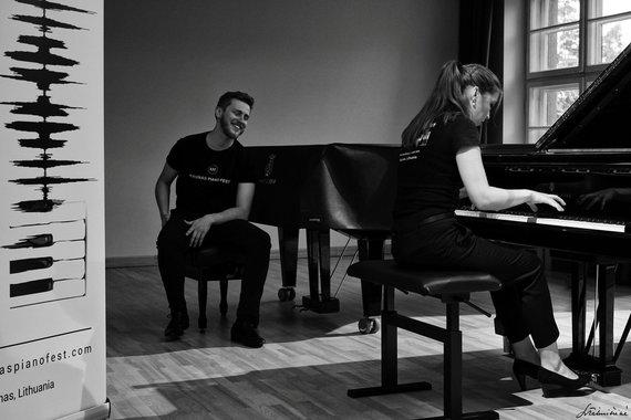 """Laimos Tikuišienės nuotr./Festivalis """"Kaunas Piano Fest"""""""