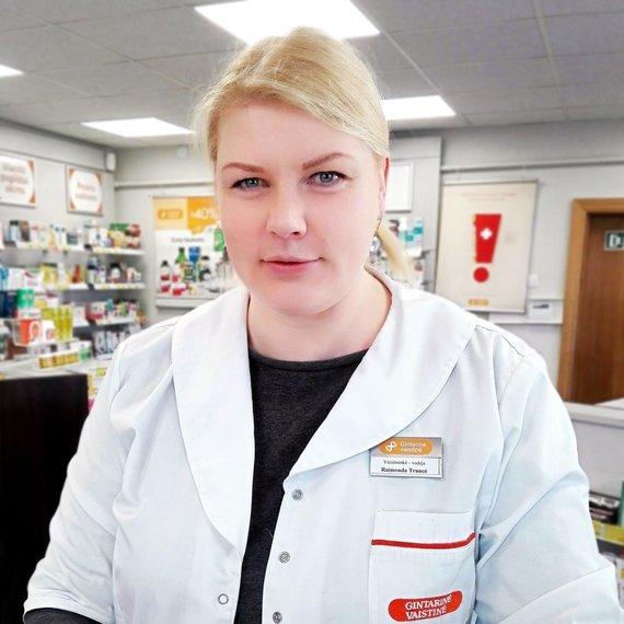 Vaistininkė Raimonda Truncė