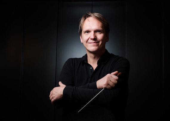 KMSO nuotr. /Kauno miesto simfoninio orkestro dirigentas Vilmantas Kaliūnas