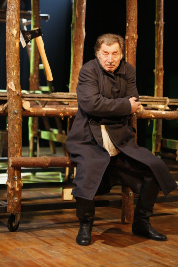 Nacionalinio Kauno dramos teatro nuotr. /Aktorius Algirdas Pintukas