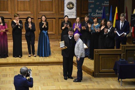 Arūno Jaugėlos nuotr. /Tarptautinis chorinės muzikos festivalis Gdanske.