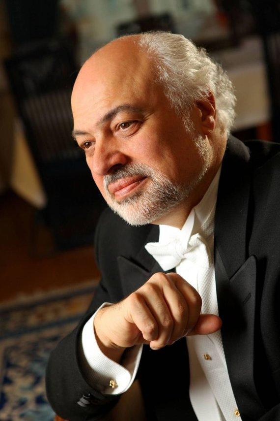 KMSO nuotr. /Kauno miesto simfoninio orkestro vyriausiasis dirigentas Konstantinas Orbelianas