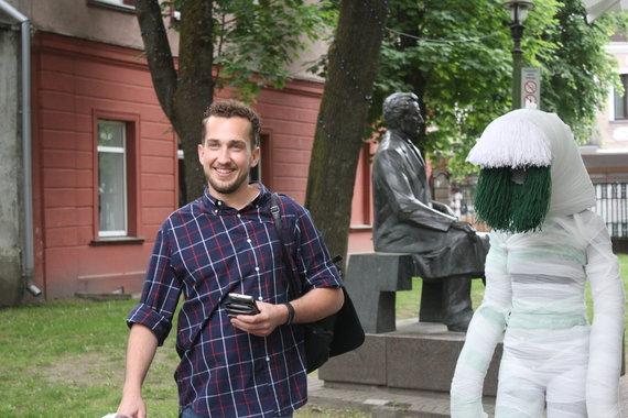 Vilniaus gatvėje kauniečius bei svečius stebins gyvosios skulptūros.