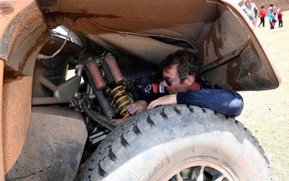 "AFP/""Scanpix"" nuotr./Sebastianas Loebas, ""Peugeot"" komandos vairuotojas"