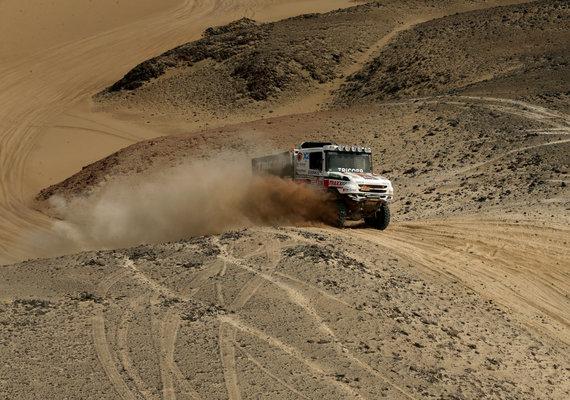 """Reuters""/""Scanpix"" nuotr./Dakaras 2018: antroji išbandymų Peru kopose diena"