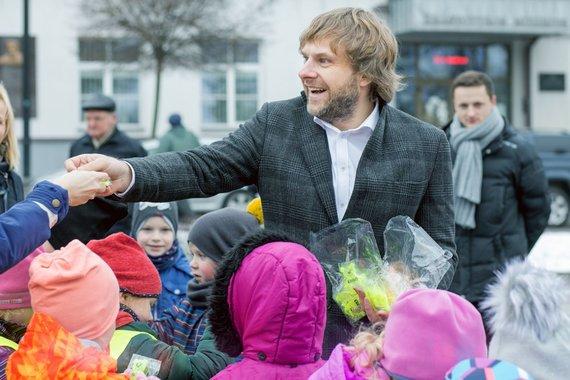 """Organizatorių nuotr./Benediktas Vanagas """"Winter Rally"""""""