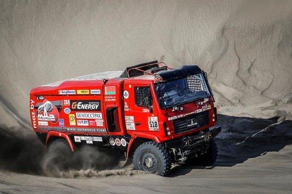 Komandos nuotr./Sergejus Viazovičius šių metų Dakaro ralyje