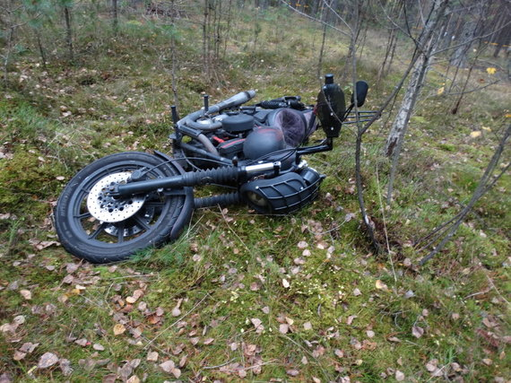 Vilniaus aps. VPK nuotr./A.Kilkaus motociklas