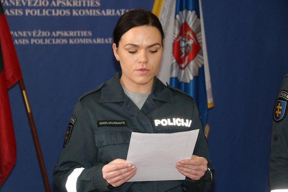 Panevėžio apskr. VPK nuotr./Simona Gadliauskaitė