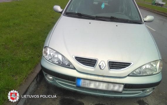 Panevėžio apskr. VPK nuotr./Renault Vakarines g.