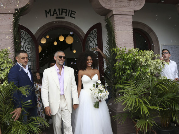 Photograph by Scanpix / Weddings by Vincent Cassell and Tina Kunakey