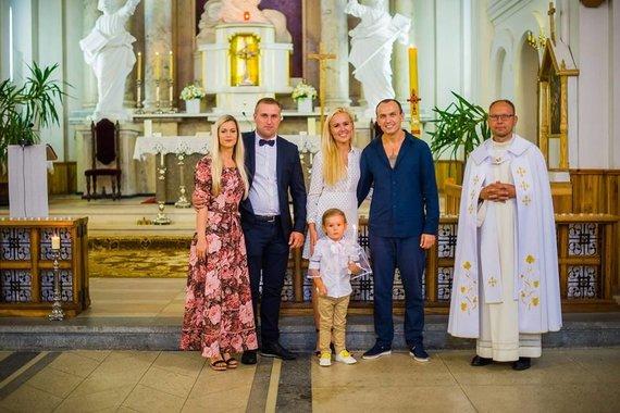 Andriaus Staniulio nuotr./Donatos Gutauskienės-Laisvos sūnaus krikštynos