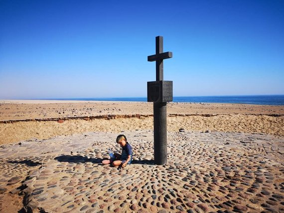 Asmeninio albumo nuotr. /Kelionės po Namibija akimirka