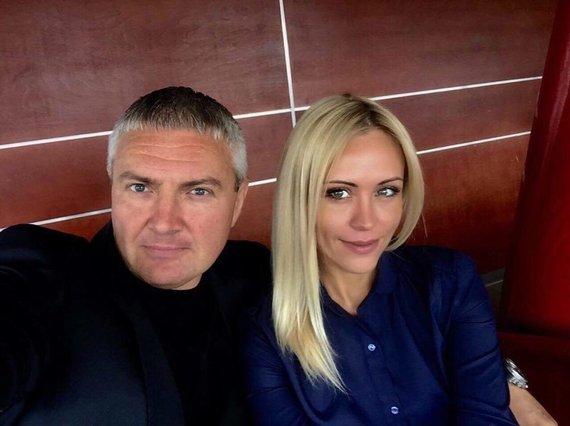 Asmeninio albumo nuotr. /Renata Klimaitytė ir Sergejus Vasilkovas