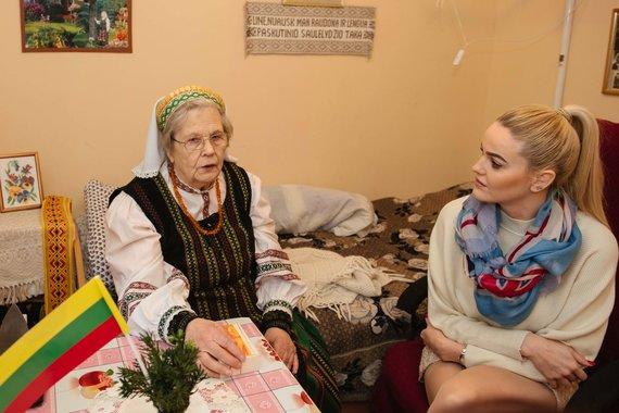 Loretos Kondratės nuotr./Neringa Šiaudikytė ir Ona Marija Gražulienė