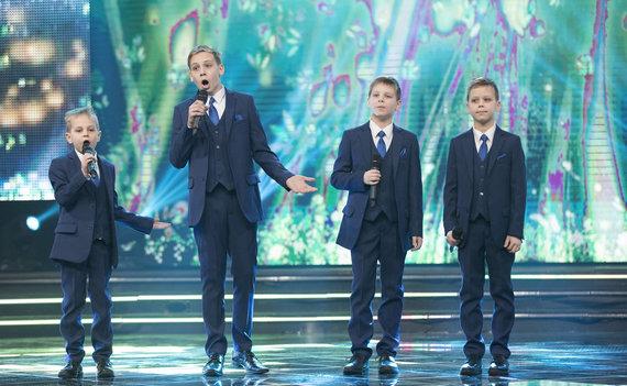 """TV3 nuotr. /Projekto """"Geriausi mūsų metai. 100-mečio šou"""" akimirka"""