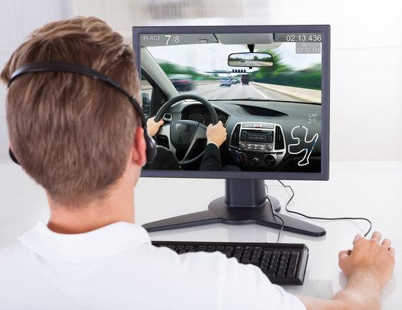 123RF.com nuotr./Kompiuteriniai žaidimai