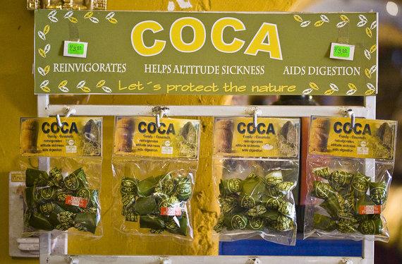 Pedro Szekely/flickr.com nuotr./Kokos saldainiai iš Peru