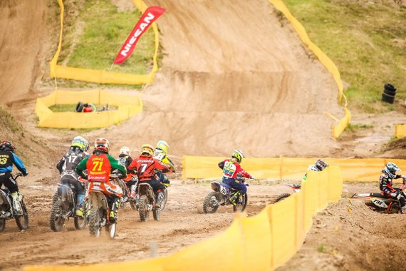 """LMSF nuotr./""""Nissan"""" Lietuvos motociklų kroso čempionatas"""