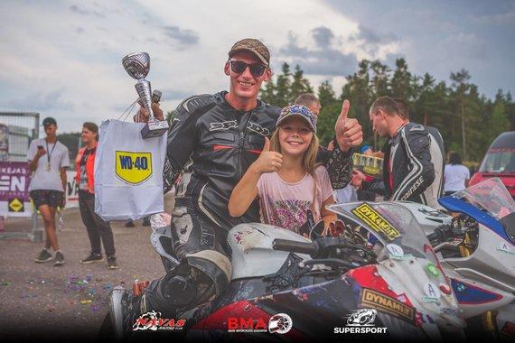 Edgaro Ščiglinsko nuotr./Sergej Busko SeniorTT klasė 3 vieta čempionate