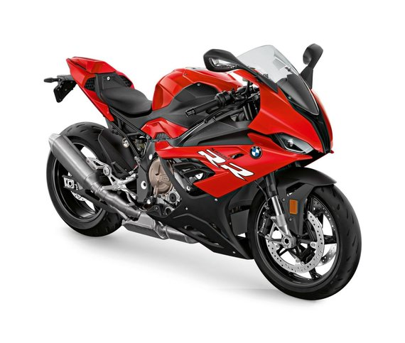 Gamintojo nuotr./BMW S 1000 RR Racing Red