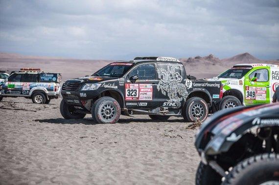 """""""General Financingg team Pitlane"""" nuotr./Dakaro ralis"""
