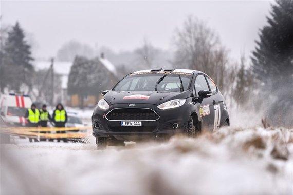 """Vytauto Pilkausko nuotr./""""Winter Rally"""""""