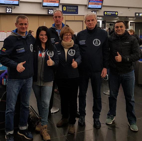 Facebook/ Asmeninio archyvo nuotr./Balys Bardauskas išskrenda į Peru