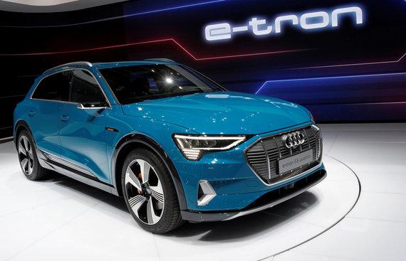 """Reuters/ Scanpix nuotr./""""Audi e-Tron"""""""