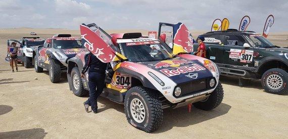 Žilvino Pekarsko nuotr./Pirmasis Dakaro greičio ruožas