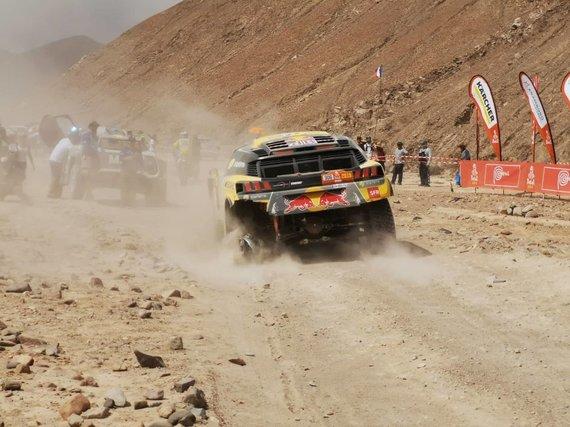 Žilvino Pekarsko nuotr./Ketvirtoji diena Dakare